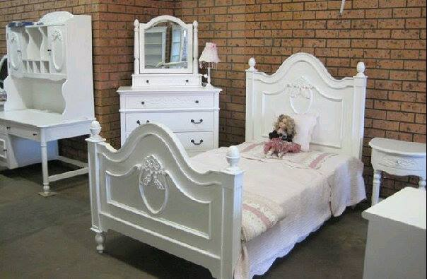 french styl bed set