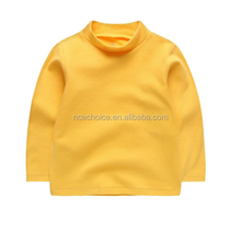 china supplier WRAP factory children clothes kids oem odm fancy design high round neck type casual wear