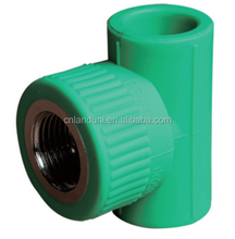 PPR Fitting Brass Insert Pipe Fitting Female Threaded Tee Female Tee