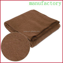 NEW Soft & Warm Organic Pure CAMEL HAIR Wool Thick Heavy Blanket wholesale