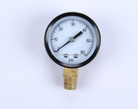 ningbo sales mini pressure gauge 2.8kpa lpg gas pressure gauge regulator