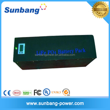 deep cycle rechargeable lifepo4 battery 48v 5ah for solar system/ LED light / e bike