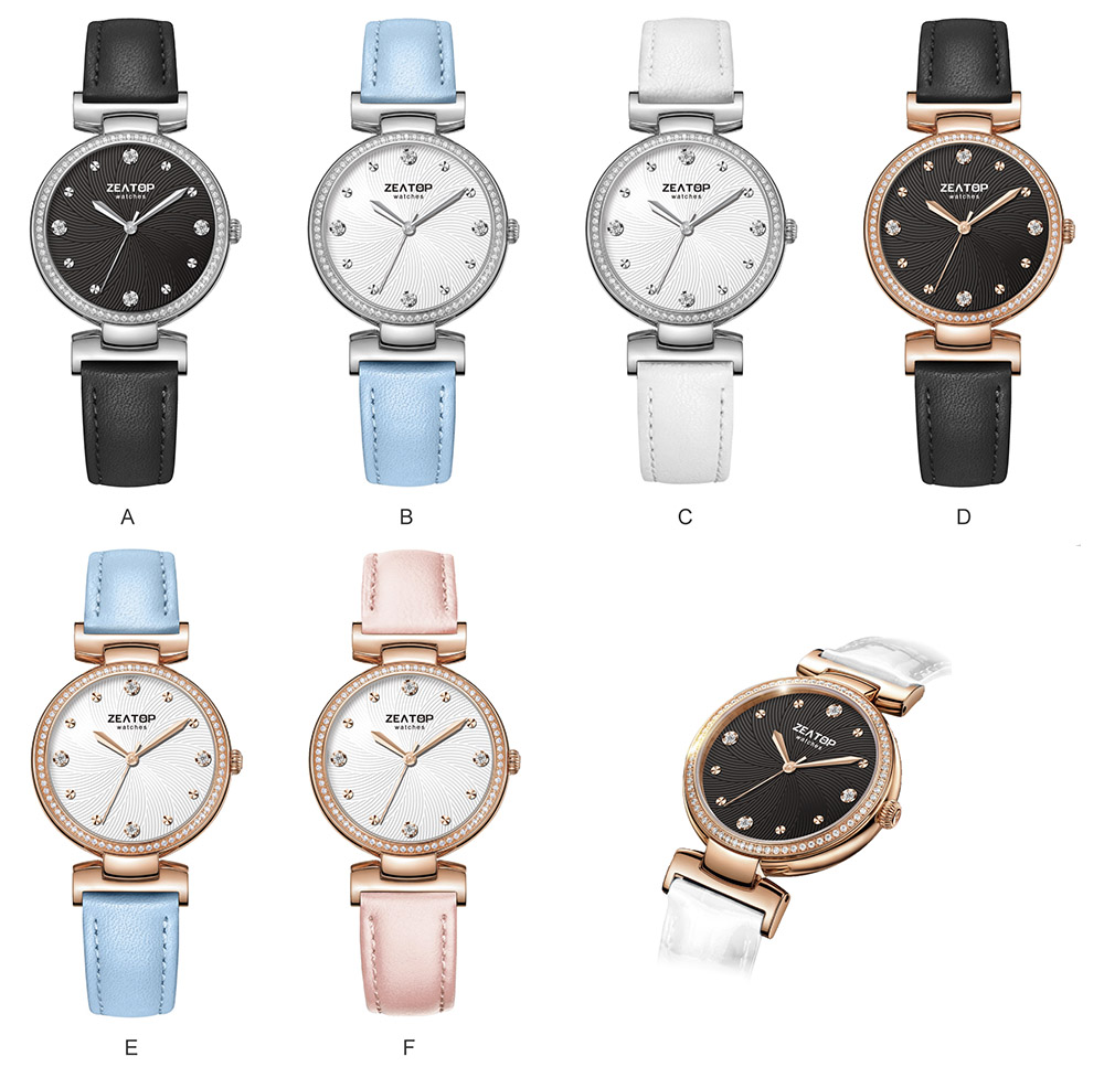Best Selling Elegance Dresses Butterfly Clasp Women Brand in Sale Ladies Solid Gold Minimalist Watches