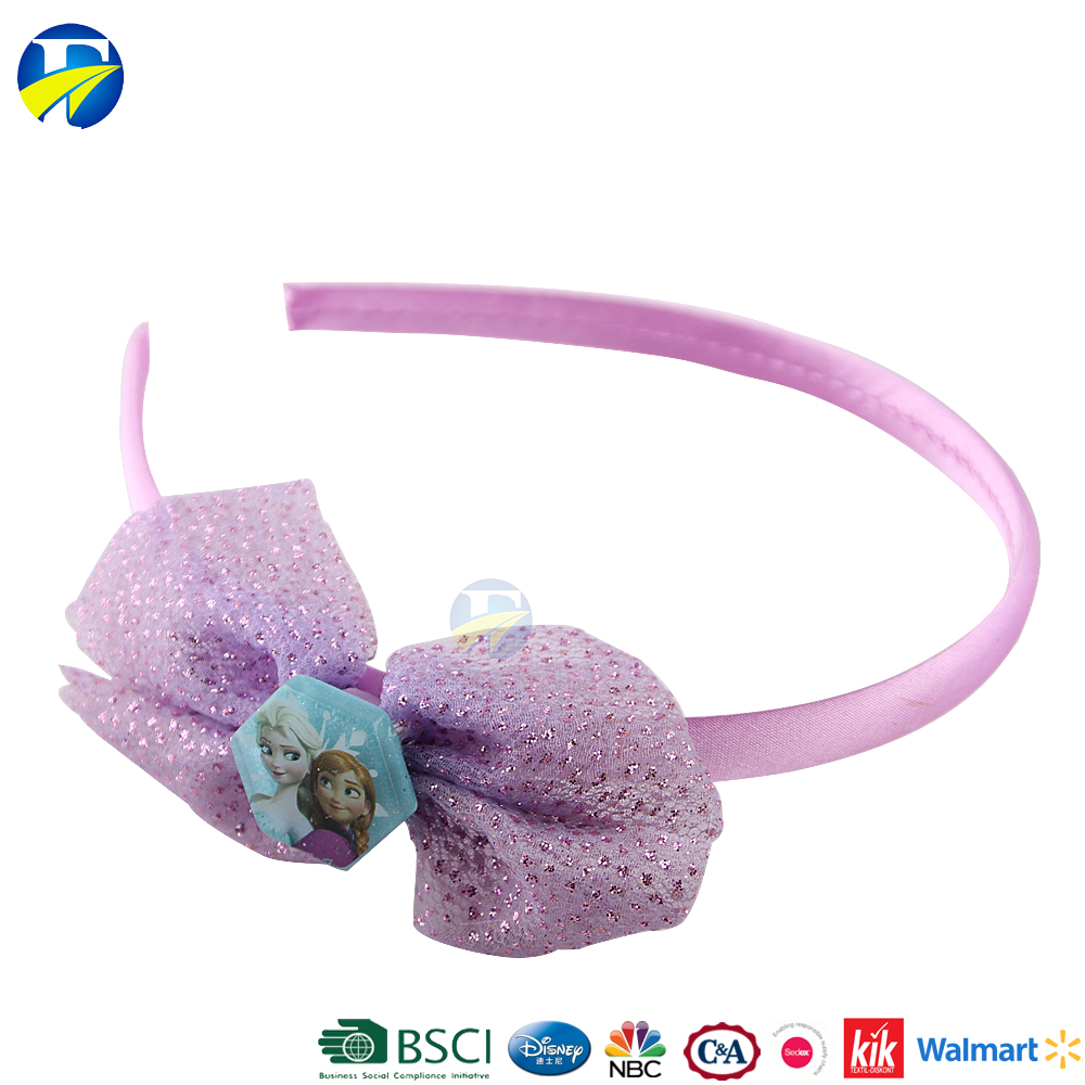 FJ brand wholesale girls handmade hairband kids hair accessories set baby hair bands