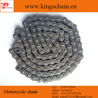 Strong nature color 428H-118L motorcycle transmission chain in brazil