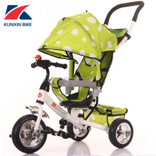 New Design Luxury baby tricycle / toddler push along trike / children's bikes with parent handle