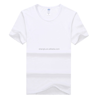 Best Selling White Modal Man/Woman T-shirt In selling