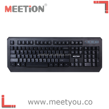 The latest Meetion Brand wired computer keyboard to gamers