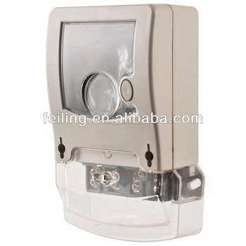 DDS-009-3 ningbo PC or ABS material meter case,fireproof electric meter case,single phase meter case