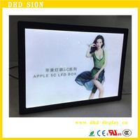 Battery power led picture frame crystal light box