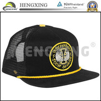Fashion new product custom mesh trucker cap with custom brand