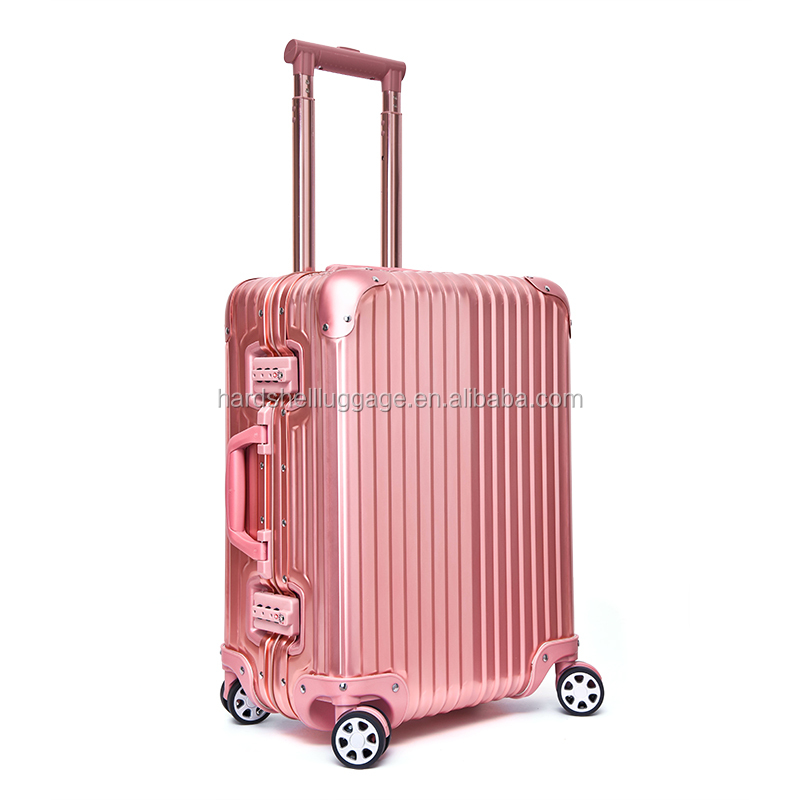 fashion aluminum magnesium alloy suitcase