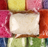 China Suppliers Decorative Raffia Shredded Paper for Candy Boxes Filler