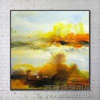 Wall Decor Scenery Abstract landscape Oil Painting