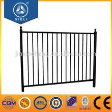 Aluminum product metal fence post supports