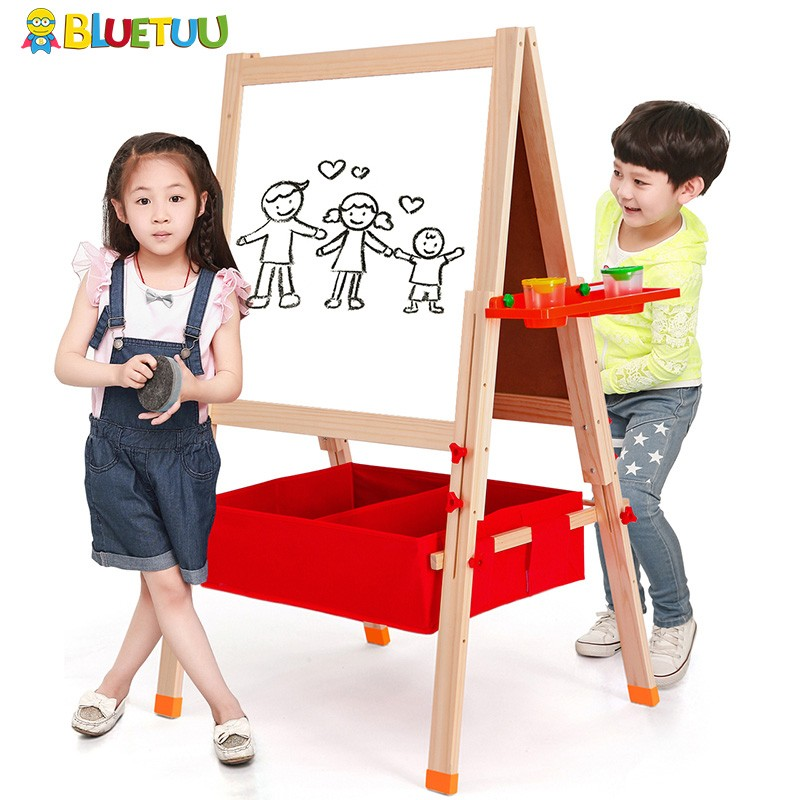 Kids fun mini wood mini wholesale wooden chalkboard with stands