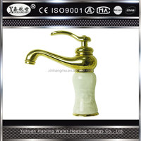 High Quality Assurance Jade with Brass Kitchen Faucet Home Water Taps Home