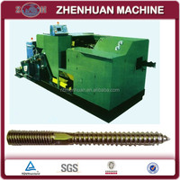Dowel screw cold heading machine with 3 die and 3 blow