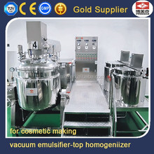 300kg up homogenizing vacuum cream heated jacket mixing tank