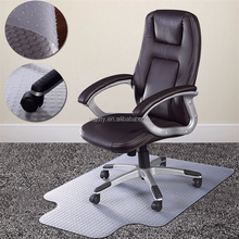 36*48 inch protecting hardwood floor PVC office chair plastic floor mat