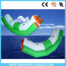 Inflatable Aqua park totter for kids and adults outdoor water play