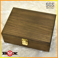 Oem Antique Small Unfinished Wooden Boxe Wholesale For Crafts And Storage