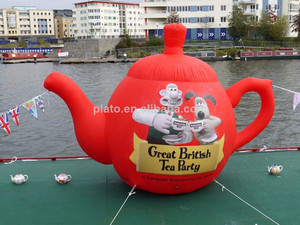 Large inflatable teapot/ tea kettle for advertising