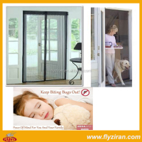 durable new self-opening magic mesh magnetic screen door