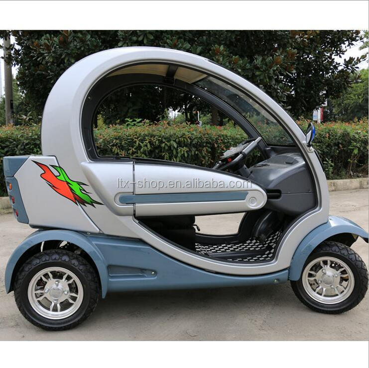 Newest Micro-mini Electric Car Four Wheels Fully Enclosed Electric Car 4 Wheel Elderly Rover Electric Scooter