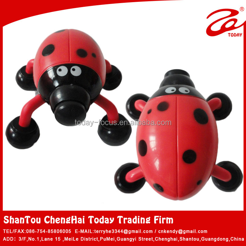Cartoon beetle Mini neck massager,facial massager