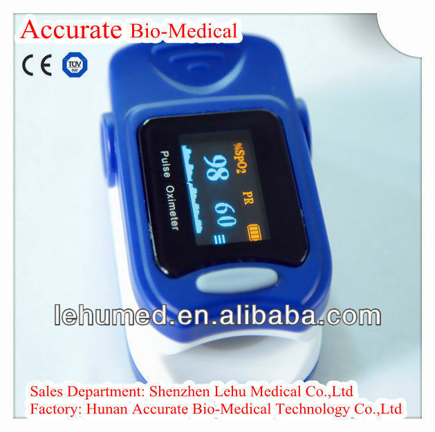 Fingertip Pulse Oximeter /Blood Pressure Spo2 Monitor CE approved