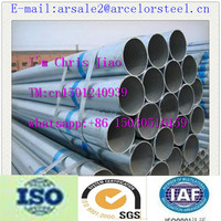 Trade assurance top quality low and medium pressure boiler galvanized steel pipe