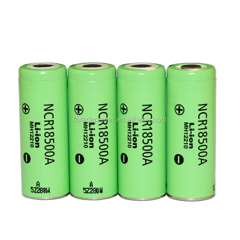 100% Original New Version 3.6V 18500 NCR18500A 2040mAh 18650 Li-ion Battery For Pansonic