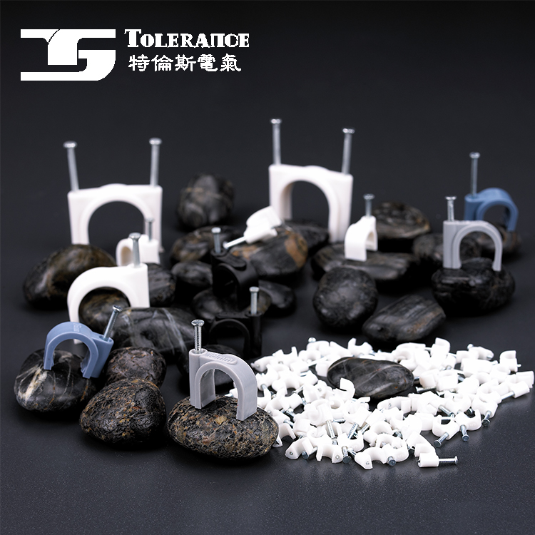 Excellent quality china manufacturer durable plastic wall nail cable clip