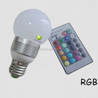 NEW E27 RGB LED Lamp 10W 15W 20W LED RGB Bulb Light Lamp 110V 220V Remote Control 16 Color Change Lampada LED