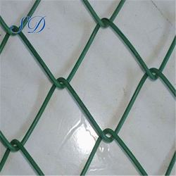 Decorative PVC Coated Chain Link Fence Mesh For Sale Factory