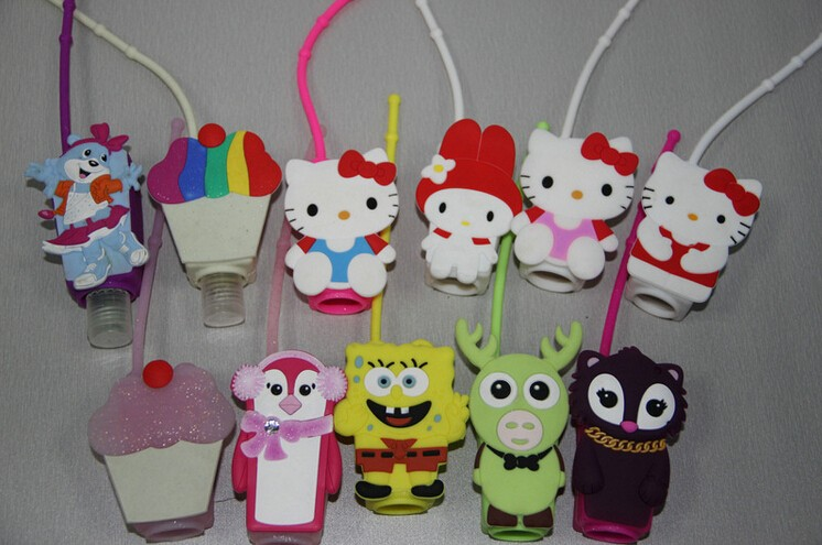 silicone hand sanitizer holder