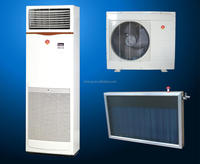 good quality floor standing type flat plate solar air conditioner for home