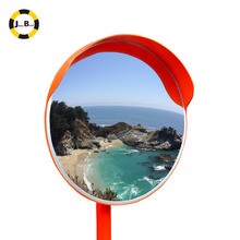 traffic safety outdoor acrylic convex mirror 30cm expand view for road corner