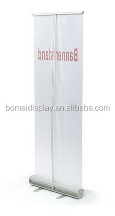 Economic roll up banner stand Aluminum roll up screen