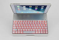 Luminous Ultra-thin Wireless Bluetooth tablet Keyboard Stand Case Cover light For iPad Air/ipad5
