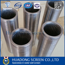 9inch Stainless steel Johnson screen tube/wedge wire wrapped screen(Leading manufacture)