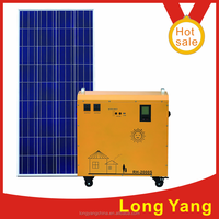 portable solar system 600W solar power DC and AC system used solar generators for sale