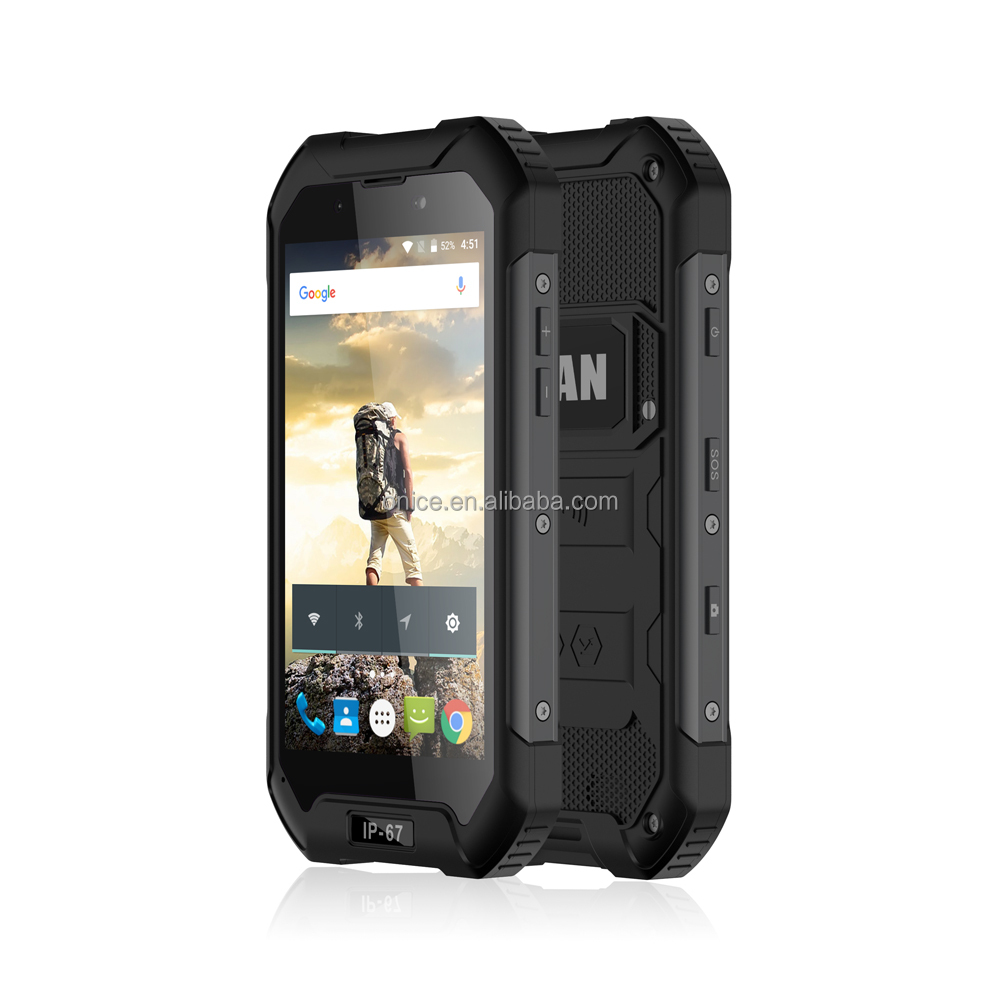 2017 rugged android phone ip 68 IMAN victor cheap waterproof mobile phone
