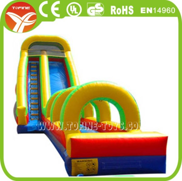 2017 hippo inflatable water slide