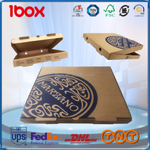 Shanghai Manufacturer Recyclable Corrugate Paper Pizza Box