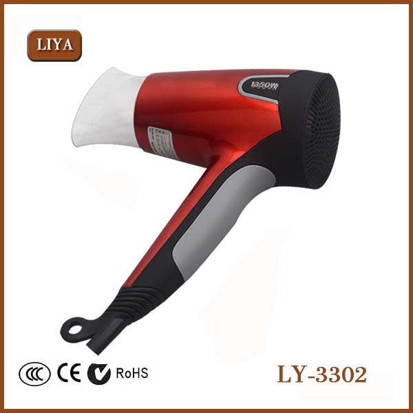 LIYA Free Sample--High Temperature Hair Dryer Far Infrared Ionic Low Noise Hair Dryer With Cool Shot 1450W