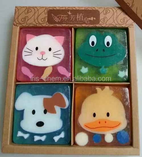Hand Made Cartoon Baby Soap