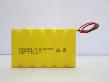 Ni-Cd AA 600mAh 7.2V rechargeable battery nicd aa 600mAh 1.2v battery pack