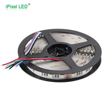 New products 50 50 SMD RGB+W 12, 24V high quality rgbw led strip